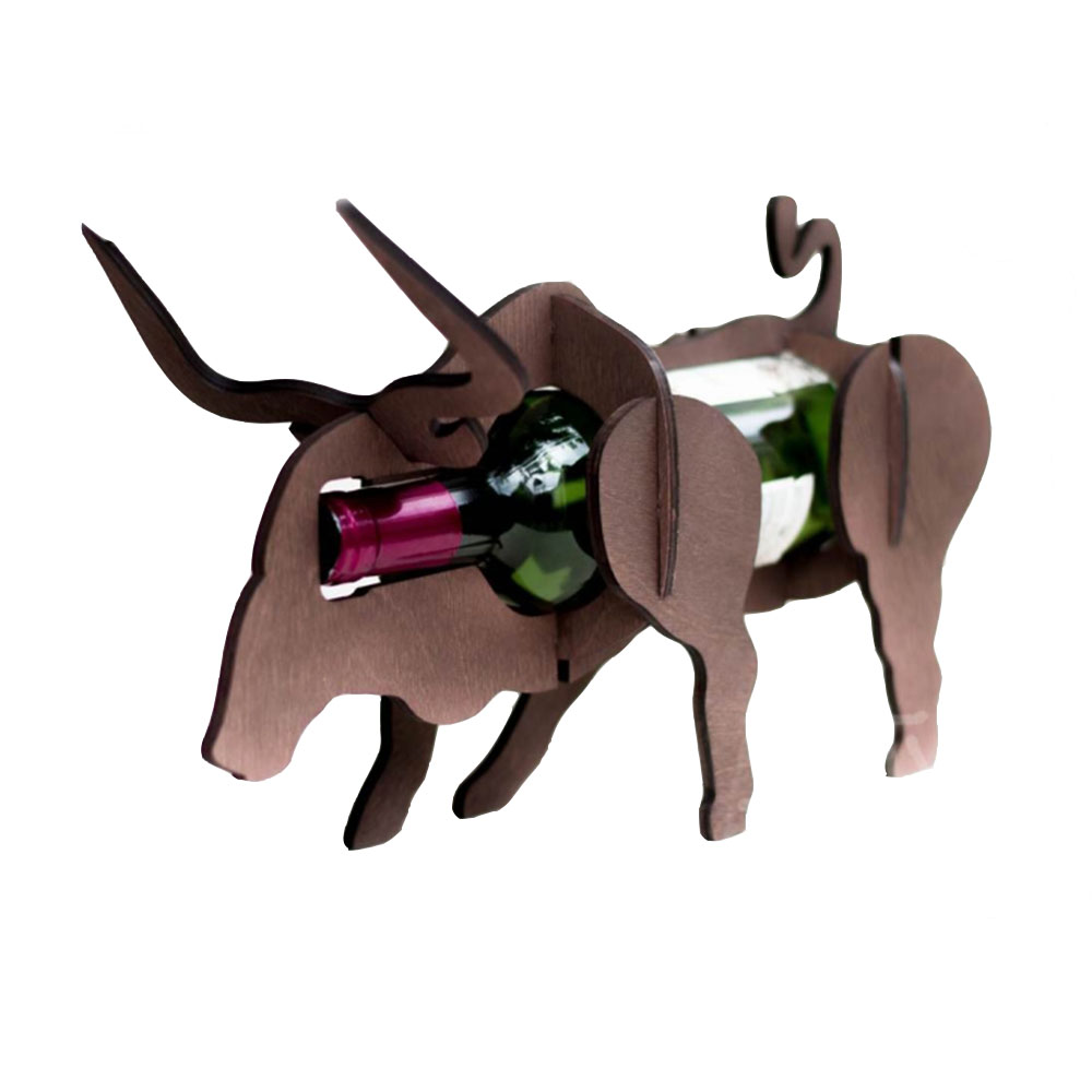 Подставка под вино - Бык