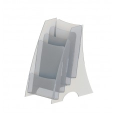 Буклетница под флаера на 4 кармана «Эконом»