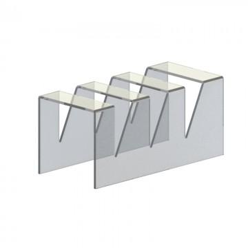 Подставка для тарелок на 3 отделения
